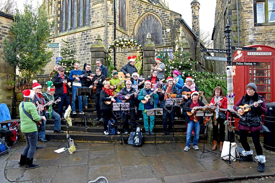 NOTE NEW START TIME!!! HUG at Haworth Christmas Market Weekend
